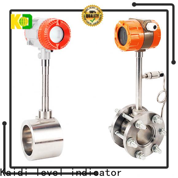 KAIDI custom flow meter supply for work