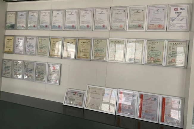 Certificates for Kaidi Company