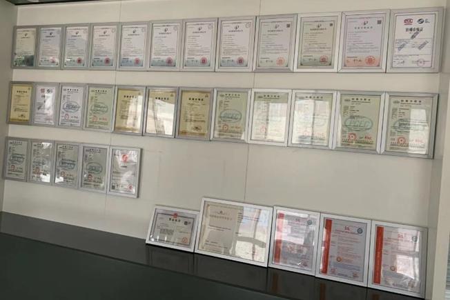 Certificates for Kaidi Company