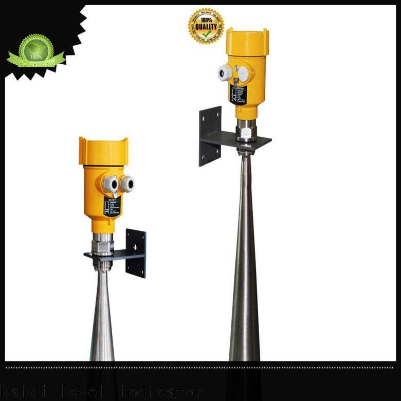 KAIDI intelligent radar level meter suppliers for work