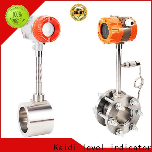 KAIDI mechanical flow meter factory for work