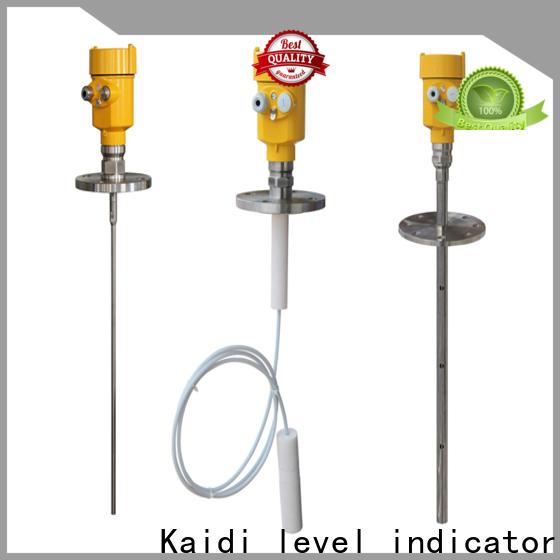KAIDI radar level transmitter company for work