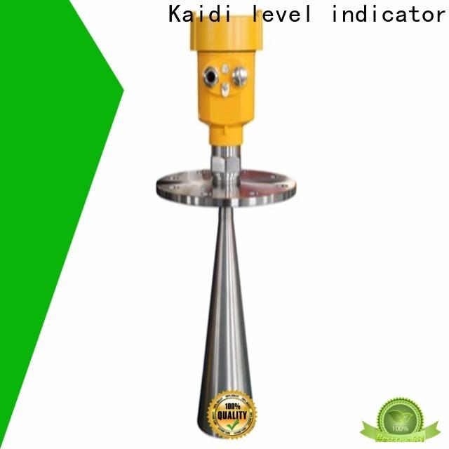 KAIDI intelligent radar level meter suppliers for transportation
