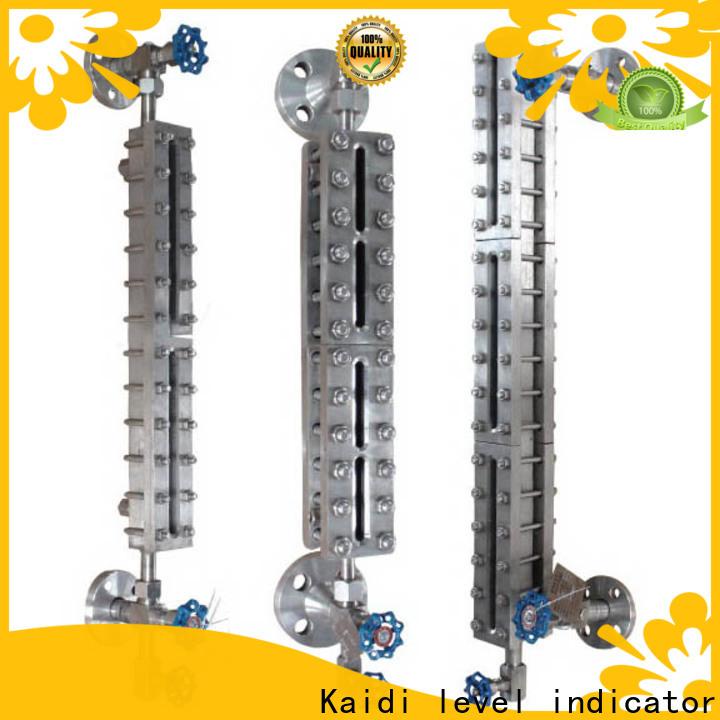 KAIDI top sight glass level gauge company for transportation