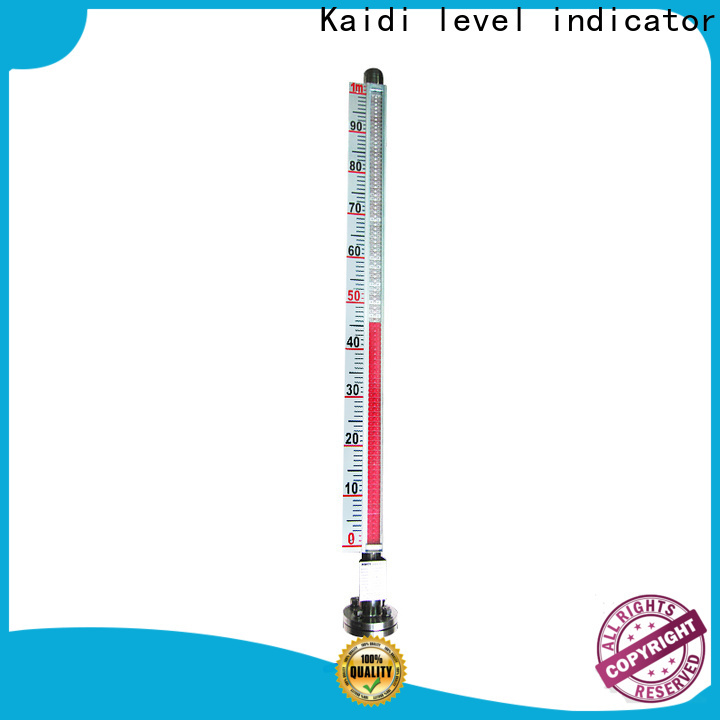 KAIDI sight glass level gauge supply for industrial