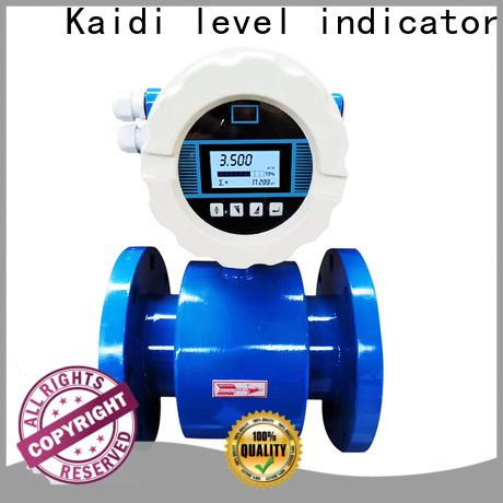 KAIDI latest pneumatic flow meter supply for transportation