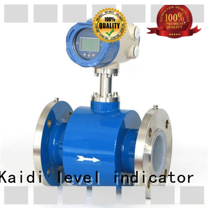 KAIDI turbine flow meter manufacturers for industrial