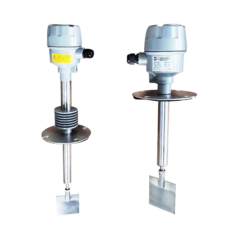 Shaft (stem rod) protection high temperature rotary paddle level sensor for bin solid powder container