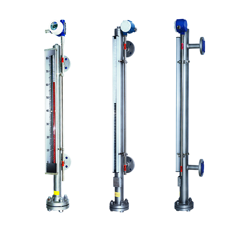 Side Mounted Tank Magnetic level gauge with 4-20mA SUS304