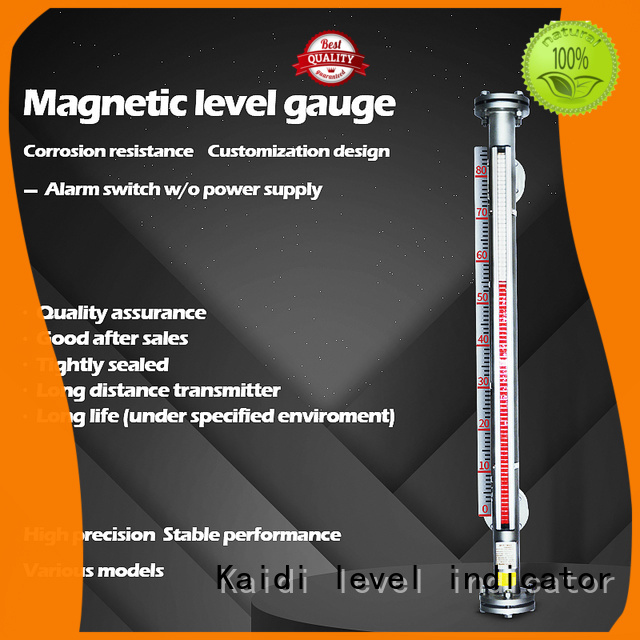 KAIDI water level gauge factory for industrial