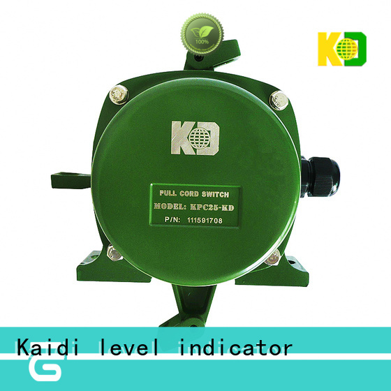 KAIDI conveyor pull rope switch suppliers for transportation